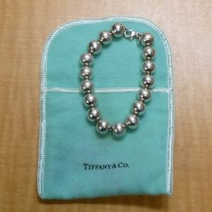 Tiffany & Co. Sterling 925 Bead Ball Bracelet 7.5""
